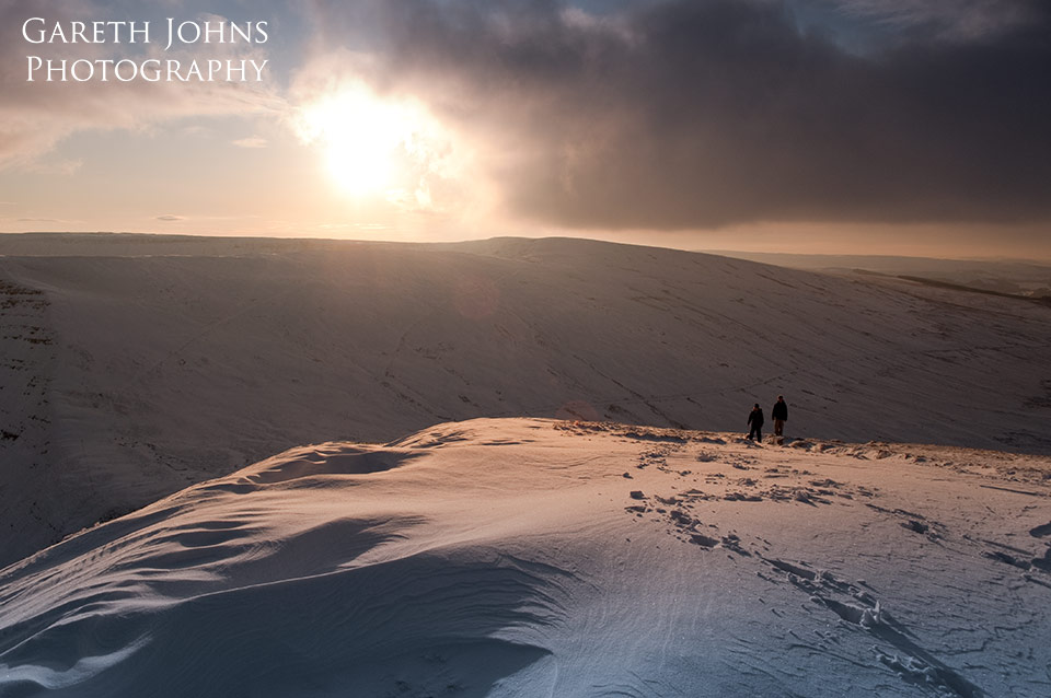 Brecon Beacons in winter