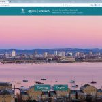 Stock image of Cardiff Bay used for website splash page
