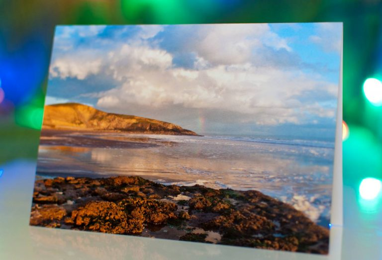 Greeting cards of Southerndown in the Vale of Glamorgan