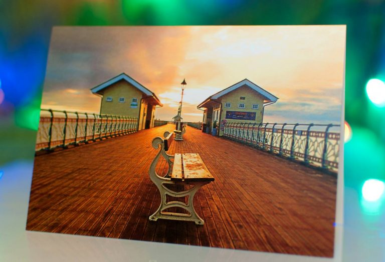 Greeting cards of Penarth Pier